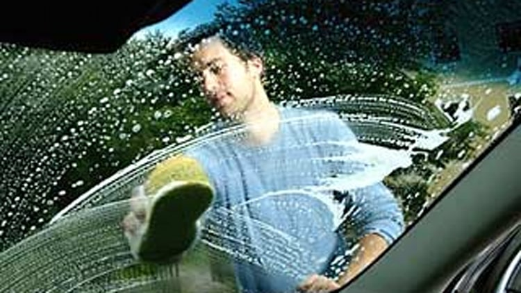 Myth #1: Dishwashing detergent is safe to use to wash your car.