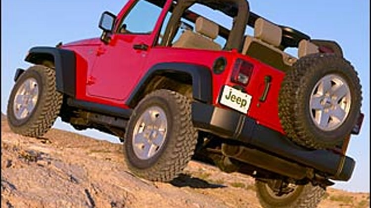 Compact SUV/Off-Road: Jeep Wrangler