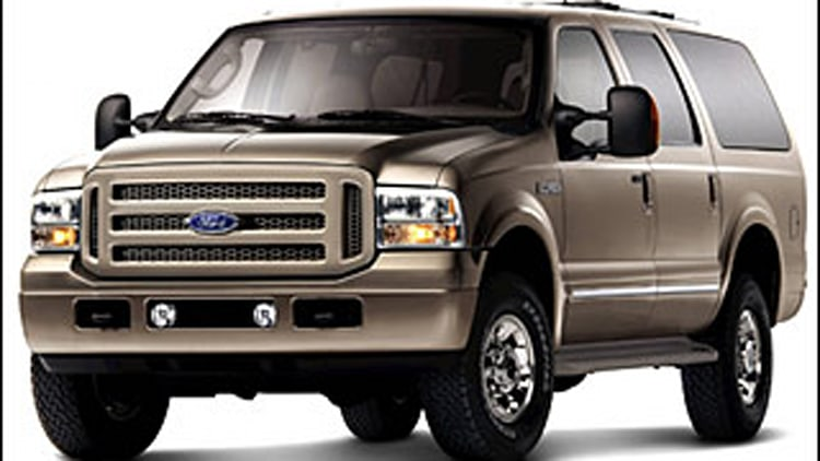 6. Ford Excursion