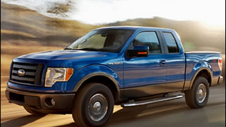Large Light-Duty Pickup: Ford F-150