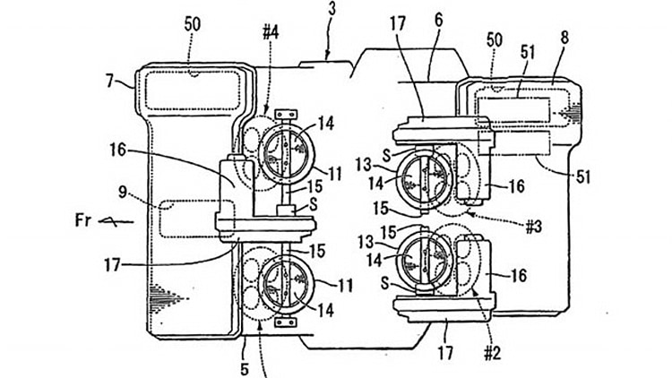 honda v4 engine patent drawings photo gallery autoblog honda v4 engine patent drawings