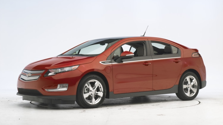 2011 Chevrolet Volt crash tests