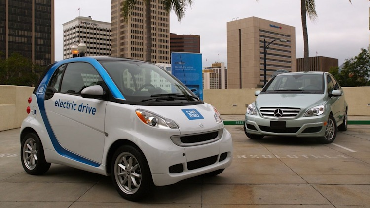 Electric Car2go In San Diego