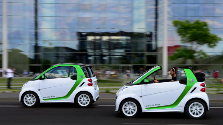 Smart Fortwo ED Electric Vehicle Third Generation