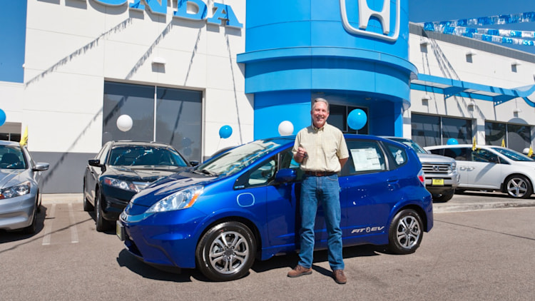 Honda Fit EV First Customer
