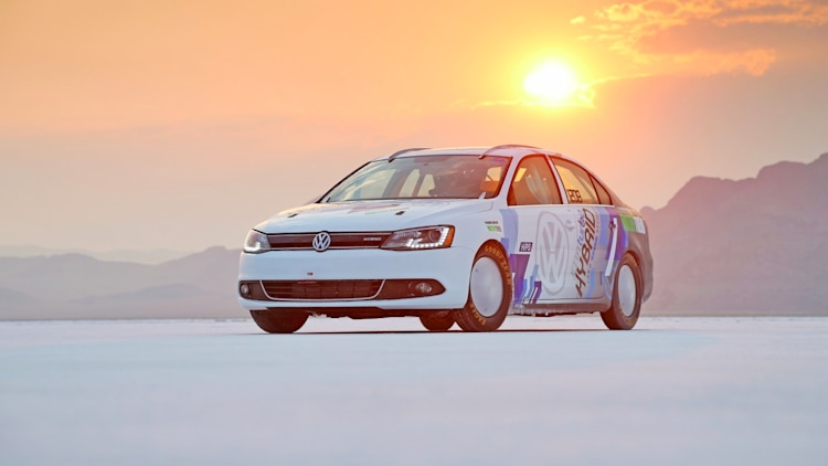 vw jetta hybrid land speed record