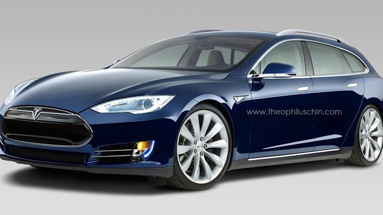 tesla model st render