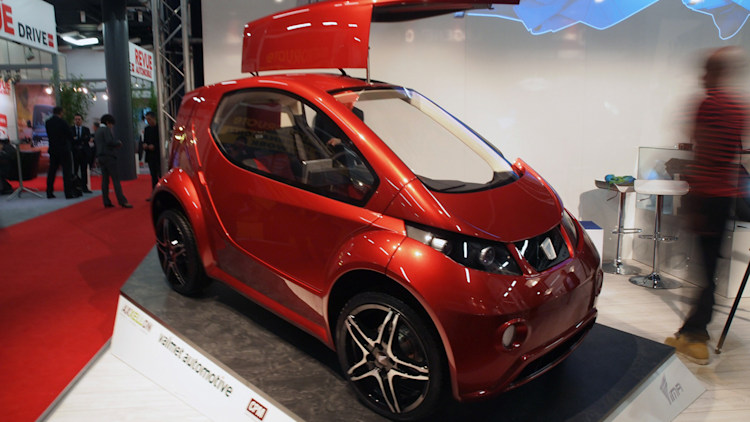 Innovative Mobility Automobile Colibri: Geneva 2013