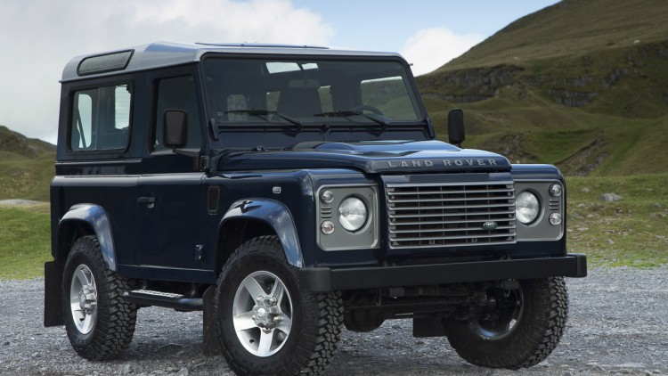 classic land rover defender may be saved by billionaire autoblog. Black Bedroom Furniture Sets. Home Design Ideas