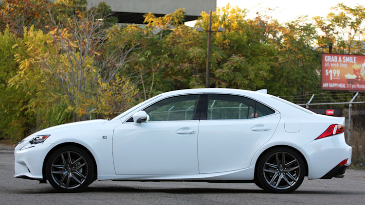 lexus is 250 to get new turbo four autoblog. Black Bedroom Furniture Sets. Home Design Ideas