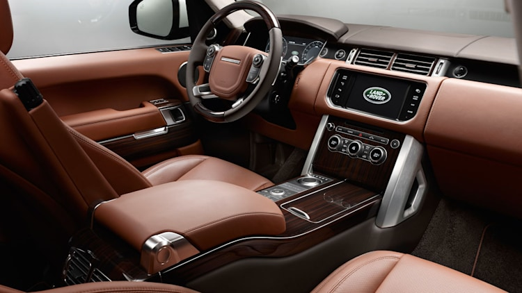 2014 land rover range rover autobiography black lwb with valloire white paint photo gallery. Black Bedroom Furniture Sets. Home Design Ideas