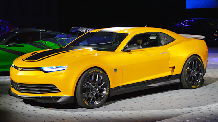 Chevy Brings Bumblebee New Transformers 4 Corvette And
