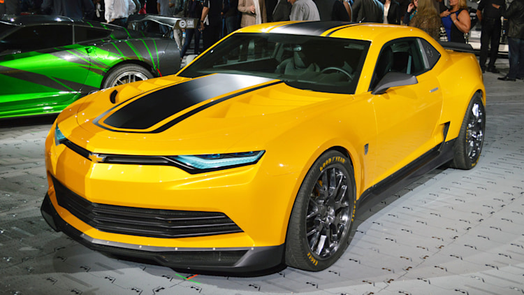 Chevy brings Bumblebee, new Transformers 4 Corvette and Sonic to SEMA - Autoblog