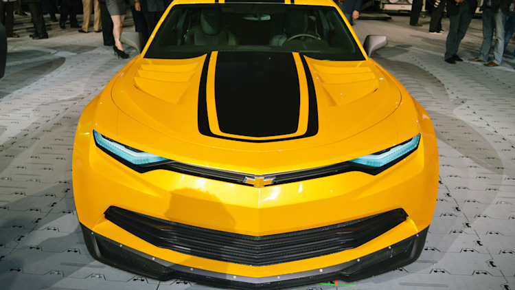 Chevy brings Bumblebee, new Transformers 4 Corvette and Sonic to SEMA ...