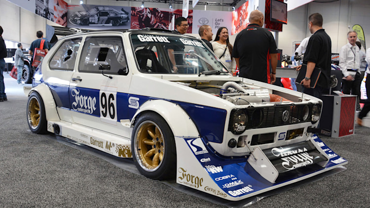 Forge Motorsports Mk1 Vw Golf Goes Group B All Over Sema