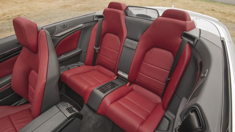 Active seat bolsters -- Mercedes-Benz E550, $660