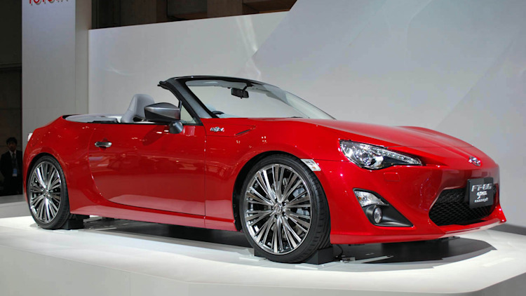 scion trying to build business case for fr s convertible as subaru bows out autoblog. Black Bedroom Furniture Sets. Home Design Ideas