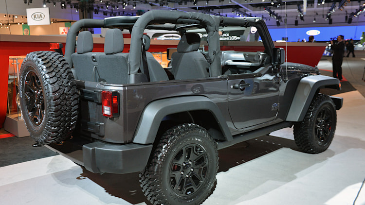 Used 4 Door Jeeps For Sale Jeep Wrangler Willys Wheeler wants mountains, not a stage ...