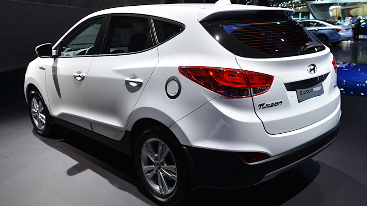 Hyundai Leased 70 Tucson Fuel Cell Vehicles In First Year