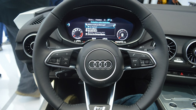 First impressions of Audi's next TT interior and Virtual Cockpit [w ...