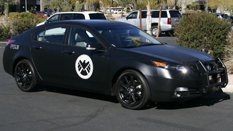 Ebay Find Of The Day S H I E L D Acura Tl From The Avengers Autoblog