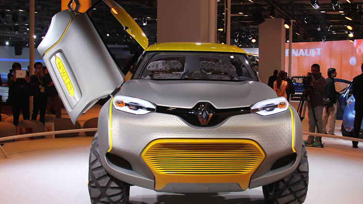 Renault Kwid Concept Eyes India 39 S Youth Market W Videos