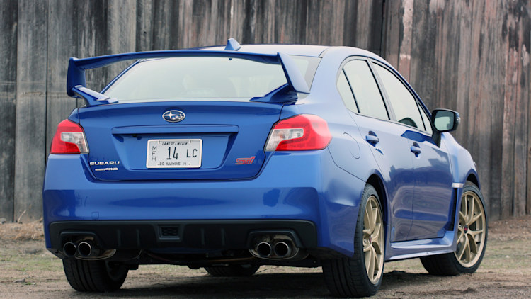Upcoming Subaru WRX STI rumored to get hybrid drivetrain - Autoblog