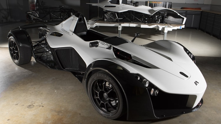 watch the first bac mono build in the us slalom its way into our hearts autoblog. Black Bedroom Furniture Sets. Home Design Ideas