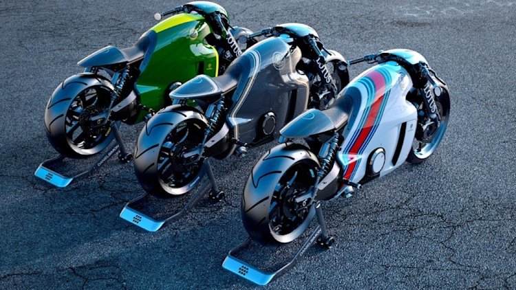 lotus motorcycles c 01 now ready for the road   autoblog