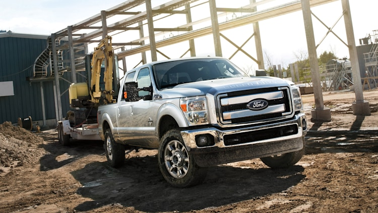 silver ford f-250 pickup