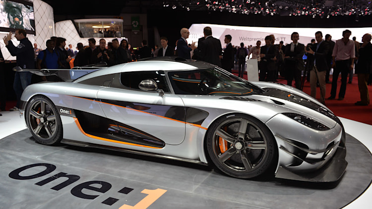 Koenigsegg One:1 prototype for sale at just $6m - Autoblog