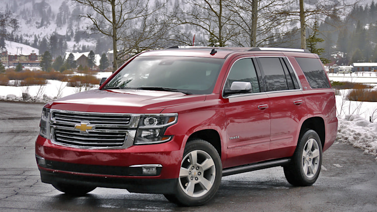 2015 chevrolet tahoe first drive autoblog. Black Bedroom Furniture Sets. Home Design Ideas