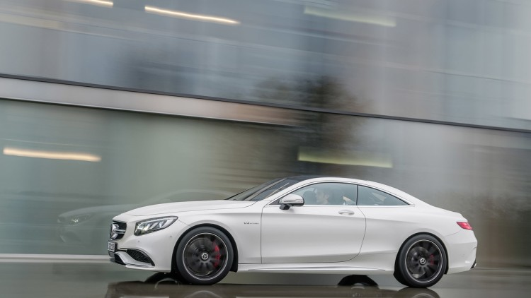 2015 MercedesBenz S63 AMG Coupe bringing big fast style to New