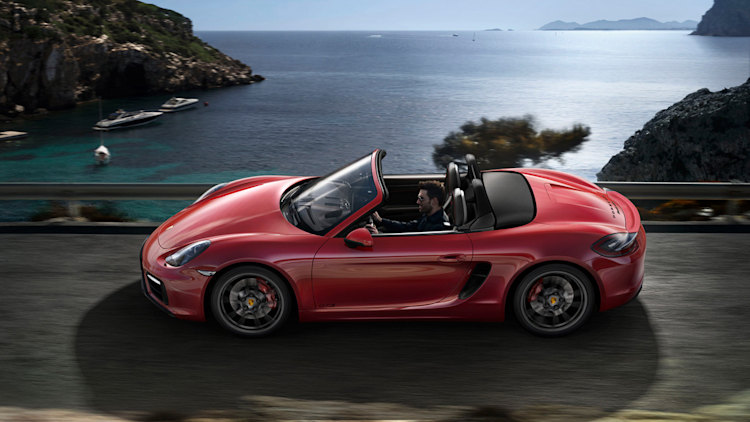 """Porsche Goes 4-Cylinder: Boxster and Cayman Get New """"718"""" Badge ..."""