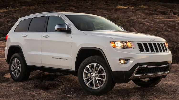Midsize SUV: Jeep Grand Cherokee