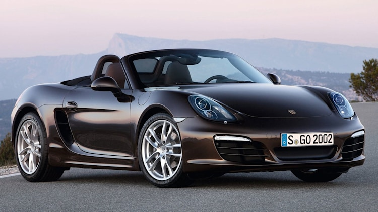 Sporty Car: Porsche Boxster