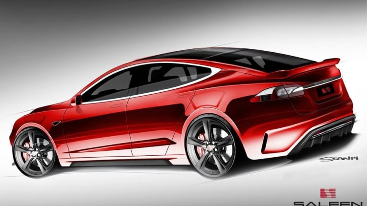 saleen hints at tuning tesla model s autoblog. Black Bedroom Furniture Sets. Home Design Ideas