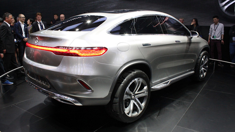 Mercedes benz concept coupe suv beijing 2014 photo for Mercedes benz 2014 suv models