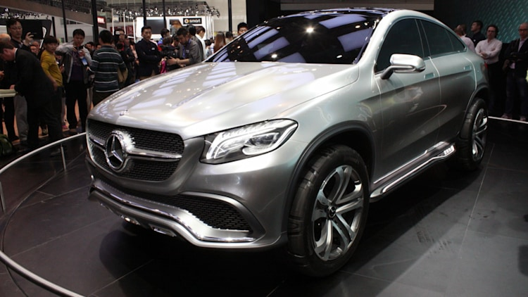 mercedes benz concept coupe suv blurs lines in beijing - Mercedes Benz Concept Coup Suv