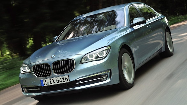 Luxury Full-Size Sedan - BMW ActiveHybrid 740 Li