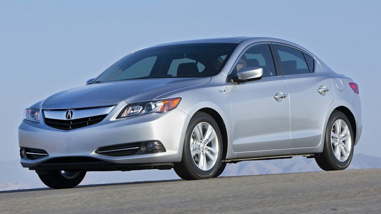 Luxury Compact Sedan - Acura ILX Hybrid