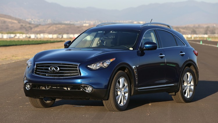 Infiniti QX70 drops V8 for 2015, holds line on pricing - Autoblog