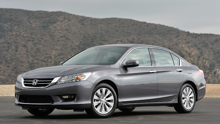 Honda Accord in grey