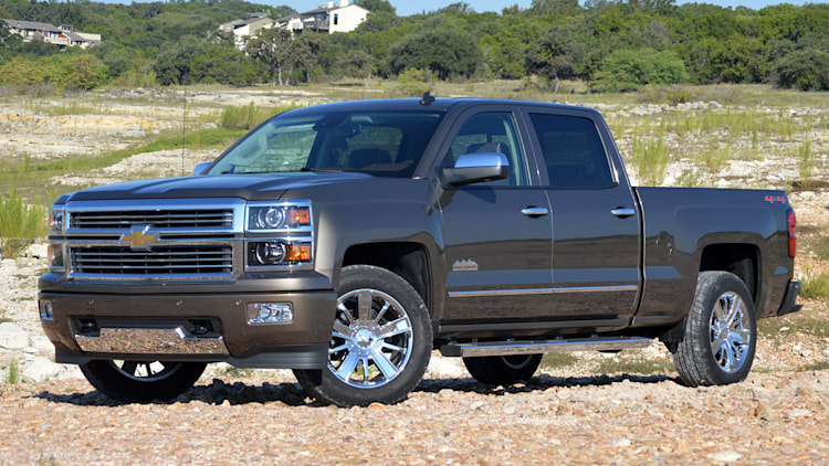 Chevy Silverado in grey