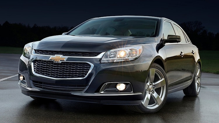 black 2014 chevy malibu