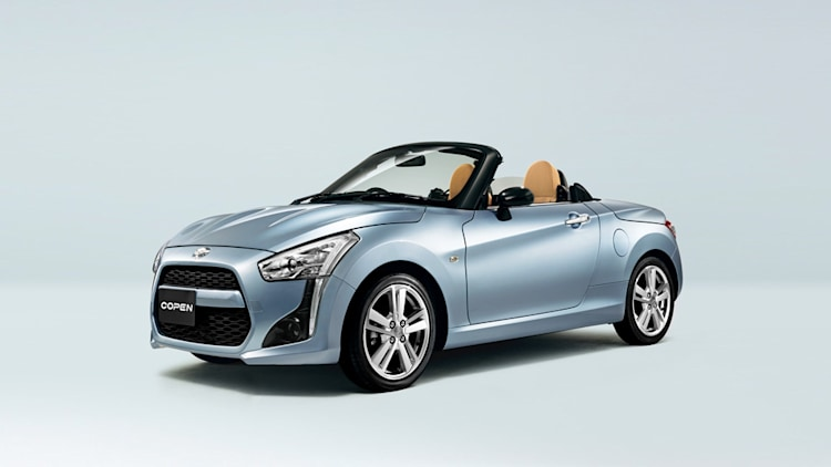 daihatsu copen reborn with configurable bodywork w video autoblog. Black Bedroom Furniture Sets. Home Design Ideas