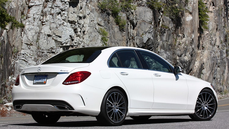 Mercedes benz c class named 2015 world car of the year autoblog - Mercedes benz c class coupe 2015 ...