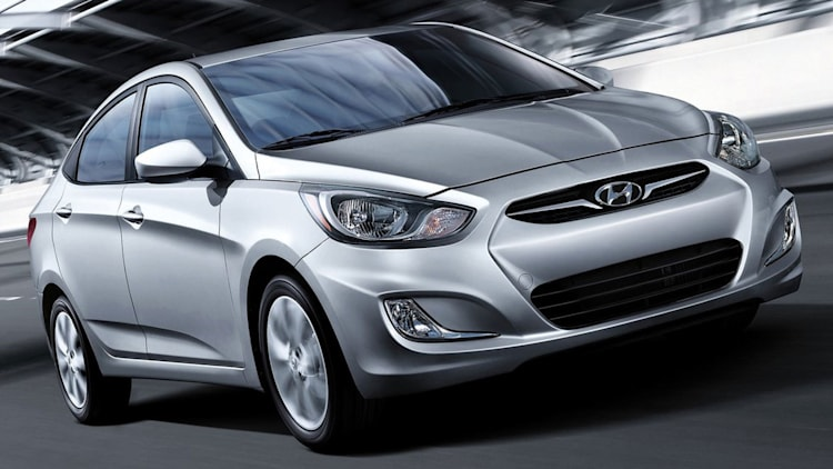 Small Car - 2014 Hyundai Accent