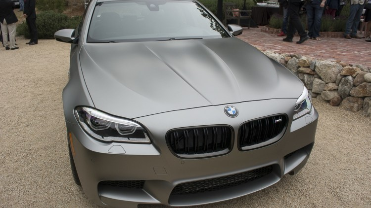 BMW M5 arrives in Monterey packing 600 hp and matte paint  Autoblog