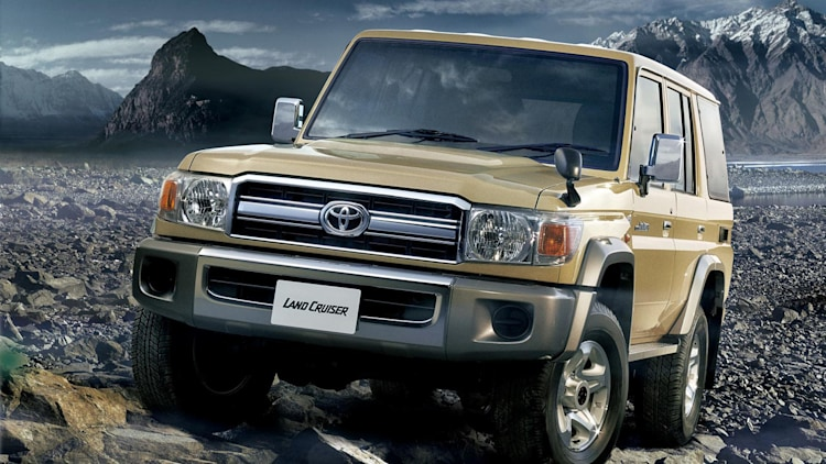 Toyota Land Cruiser 70 Series Re-release Photo Gallery - Autoblog